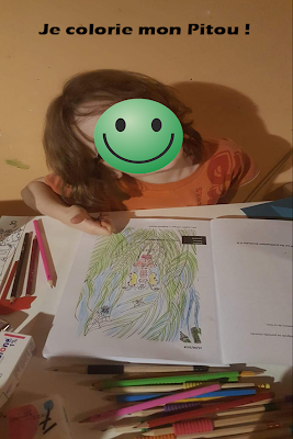 Mon livre colorié par un artiste en herbe !