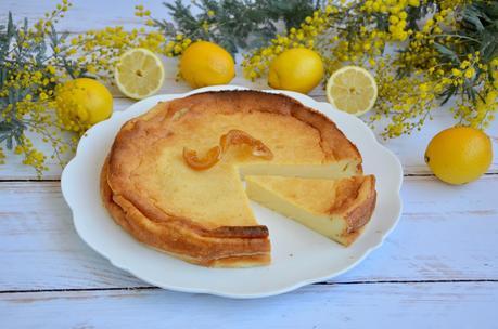 Flan au citron
