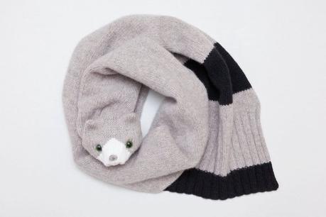 Les écharpes animaux de Nina