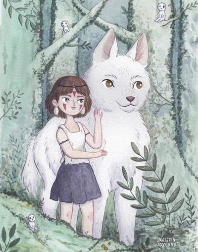 Les délicates illustrations de Kristen Askland !