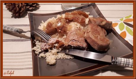Filet mignon de Porc aux abricots