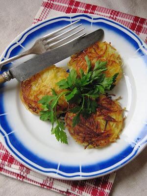 Galettes de pommes de terre à la lorraine