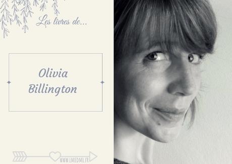 Les livres de… Olivia Billington