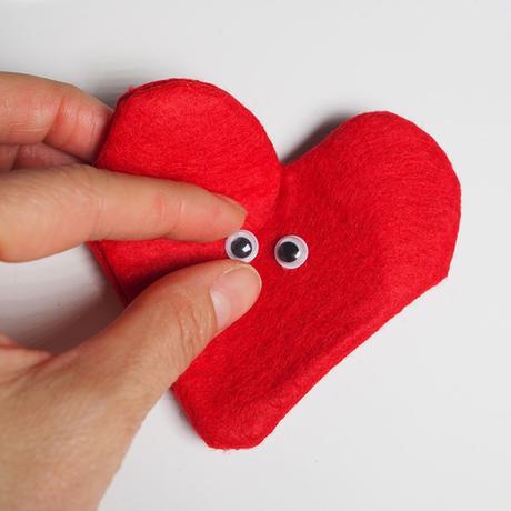 DIY Cœur de Saint Valentin à faire soi-même