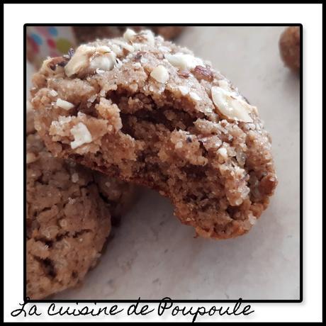 Cookies à la purée de noisette