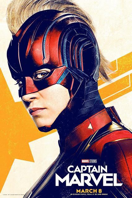Nouvelles affiches US pour Captain Marvel signé Anna Boden et Ryan Fleck