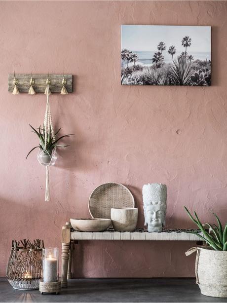 maison ethnique rose nouveau catalogue Maisons du Monde 2019 - blog déco - clem around the corner