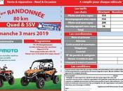 Rando quad Gémozac (17), mars 2019 Garage Maran