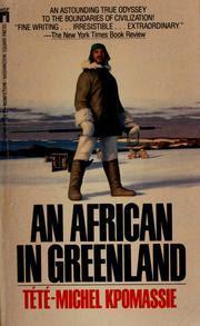 L'Africain du Groenland de Tété-Michel Kpomassie