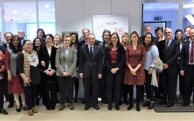 Le site de la Conférence de la Conférence de La  Haye de DIP nous informe: