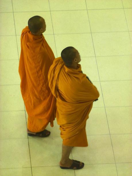 Bangkok stories #1 : Suvarnabhumi Airport