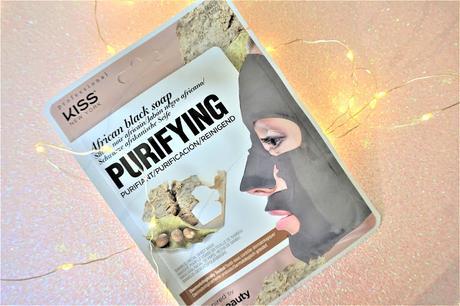 masque purifiant savon noir