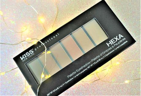 Palette Hexa nude brown