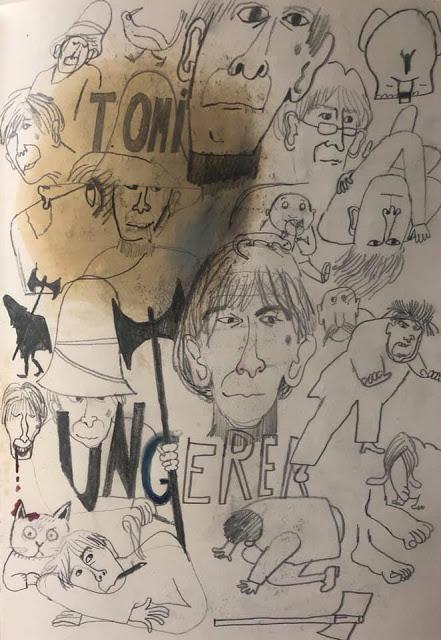 Hommages écrits et dessinés à Tomi Ungerer