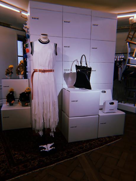 Sacai ouvre un pop-up store à Paris