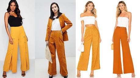 STYLE : un pantalon moutarde comme la chanteuse Angèle