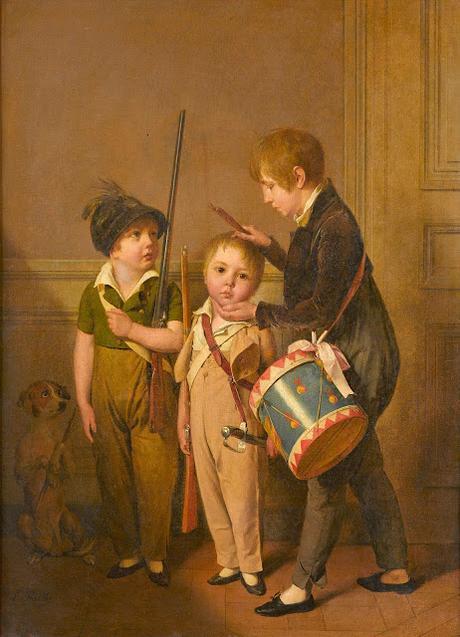 Louis-Léopold BOILLY - Scènes de la vie parisienne à la National Gallery