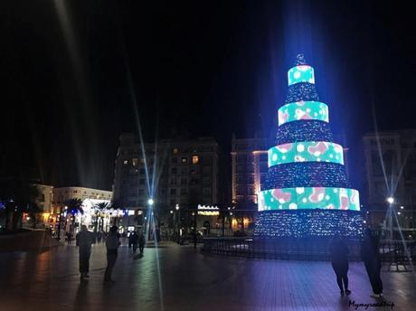 Passer deux jours à Malaga en Andalousie pour les fêtes de Noël
