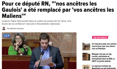 Avec @ludovicpajot, le #FN a changé de nom, mais pas de visage : il est odieux #RN=#racisme