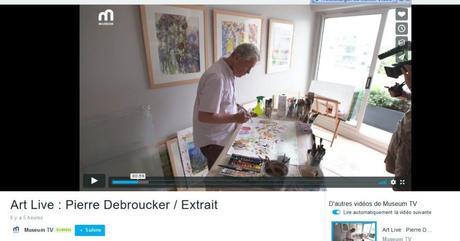 Art Live : Masmoulin sur Museum TV (bouquet de Canal +)