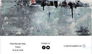 Galerie LEE   exposition Jacqueline DOLY  à partir d 14 Février 2019