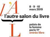 Prochaine dédicace mars l'Autre Salon Livre, Palais Femme [ici]
