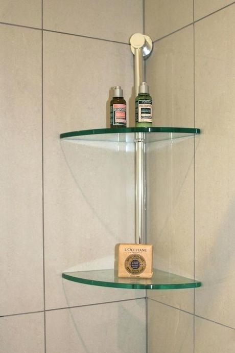 glass shower shelf glass corner shelves in shower love glass shower shelf niche
