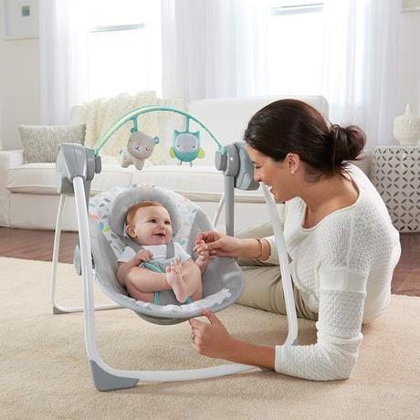 balancelle électrique bébé