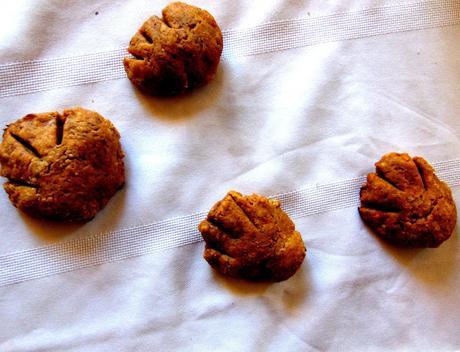 Pattes de nounours à la patate douce