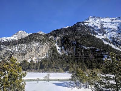 Langlauf auf dem Riedboden - Mittenwald - Ski de fond au Riedboden - 16.02.2019