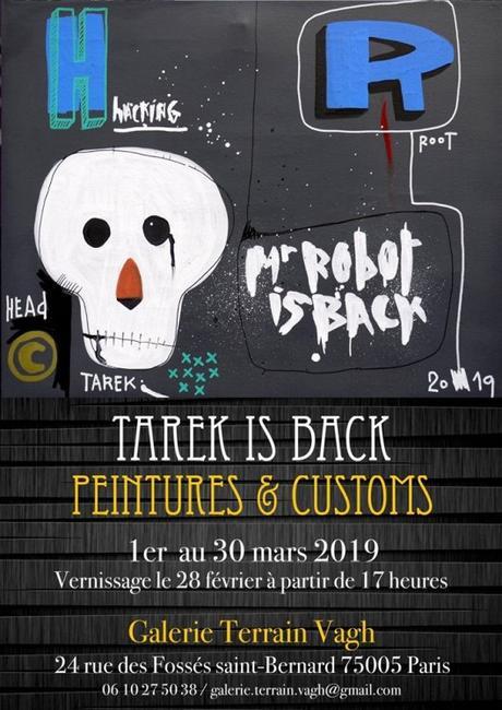 Exposition « Tarek is Back » à la Galerie Terrain-Vagh