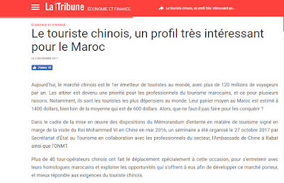 Comment le Maroc peut attirer plus d' un million de touristes chinois? (Décryptage)
