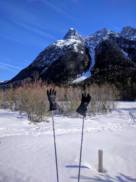 Langlauf / Ski de fond - Riedboden - Mittenwald - 17.02.2019.