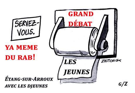 Macron : « grand des bas » avec les djeunes