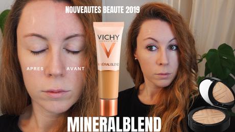 mineralblend - laboratoires vichy - fond de teint - nouveauté 2019