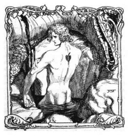 Siegfried dessiné par Franz Stassen