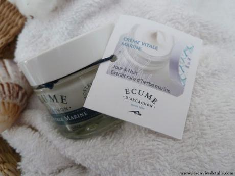 Ecume d'Arcachon, Crème vitale marine : fabuleuse !