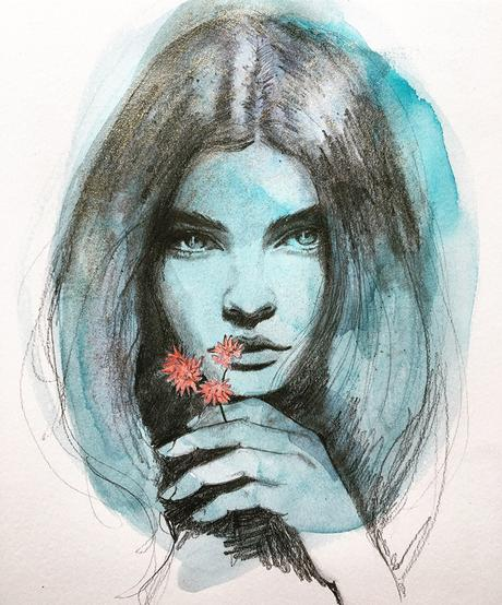 Fashion drawings and illustrations by Suze Hogan