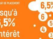 Certificats placement; jusqu'à 6,5%