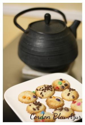 Petits biscuits express (parfaits pour le café et les visites surprises)