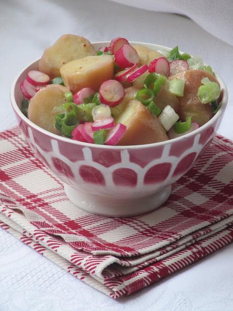 Salade de pommes de terre aux radis