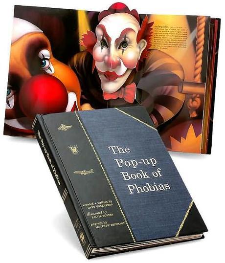Toutes les phobies dans un livre pop-up
