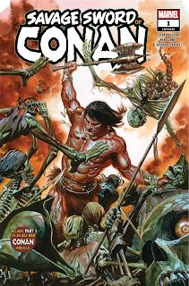 SAVAGE SWORD OF CONAN #1 : DU CONAN DE TOUTE BEAUTE