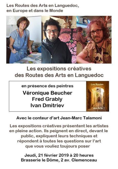 MONTPELLIER – Routes des Arts en Languedoc – 21 février