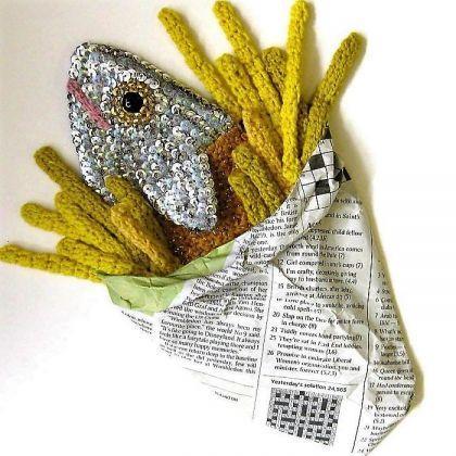 L'art alimentaire au crochet de Kate Jenkins