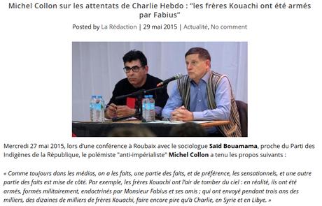 Michel Collon est antisémite (et j'ai le droit de l'écrire grâce à @marcelsel )