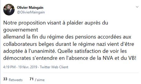 27 SS belges toujours indemnisés par l'Allemagne… soutenus par l'extrême-droite