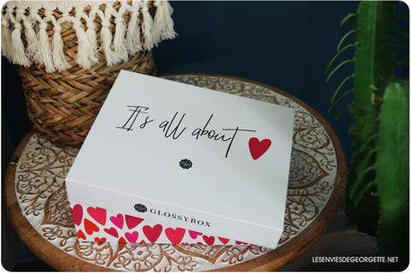 Glossybox : it's all about love