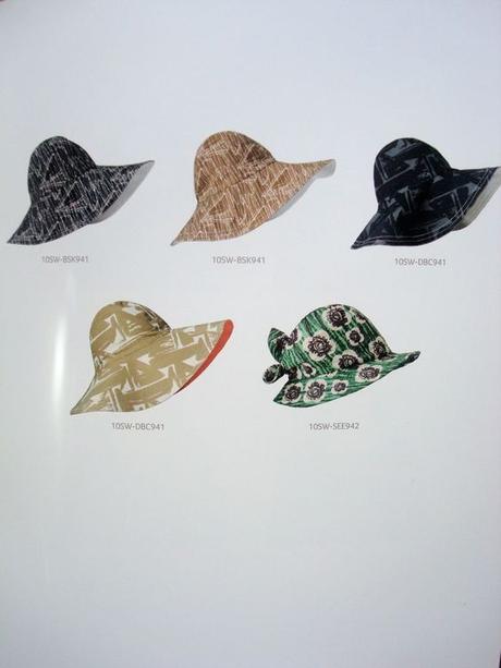 style rétro chapeau bob vert blanc marron - blog déco - clem around the corner