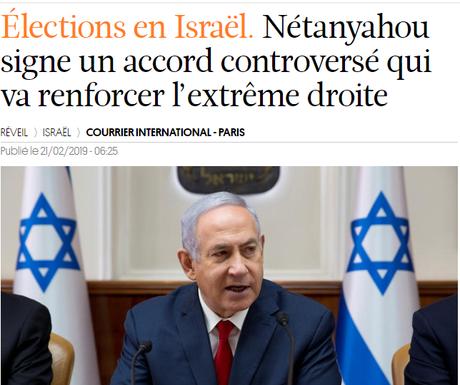 des fachos à la tête d' #Israël…